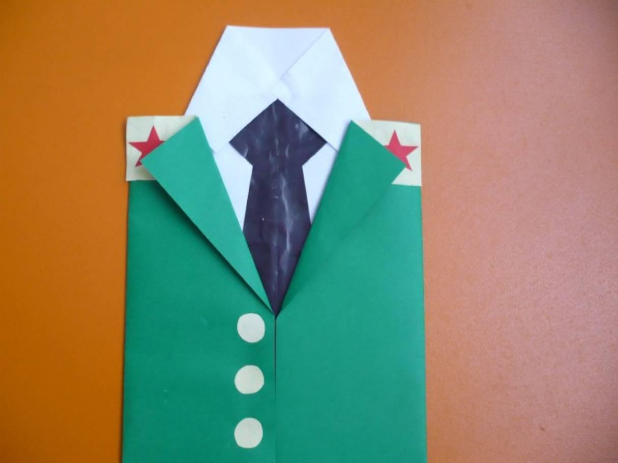 Открытка для папы рубашка с галстуком конспект в ср.гр, подруге