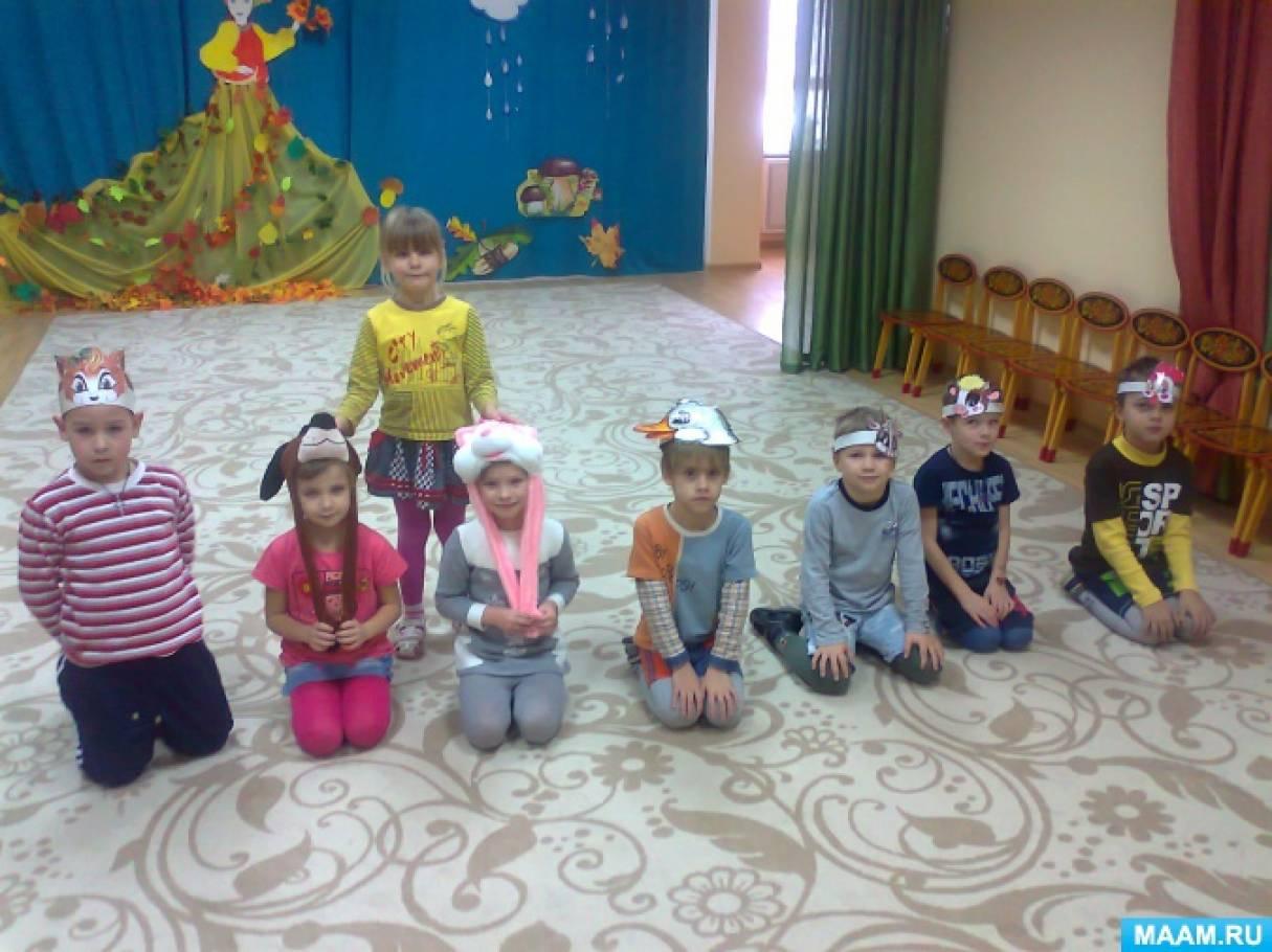Формирующий эксперимент «Музыкальные игры с детьми» в подготовительной группе