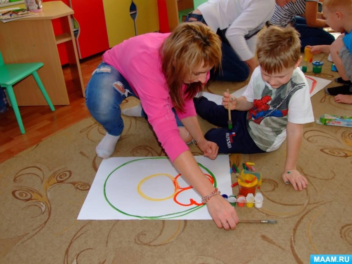 Арт-терапия в работе с заикающимися дошкольниками