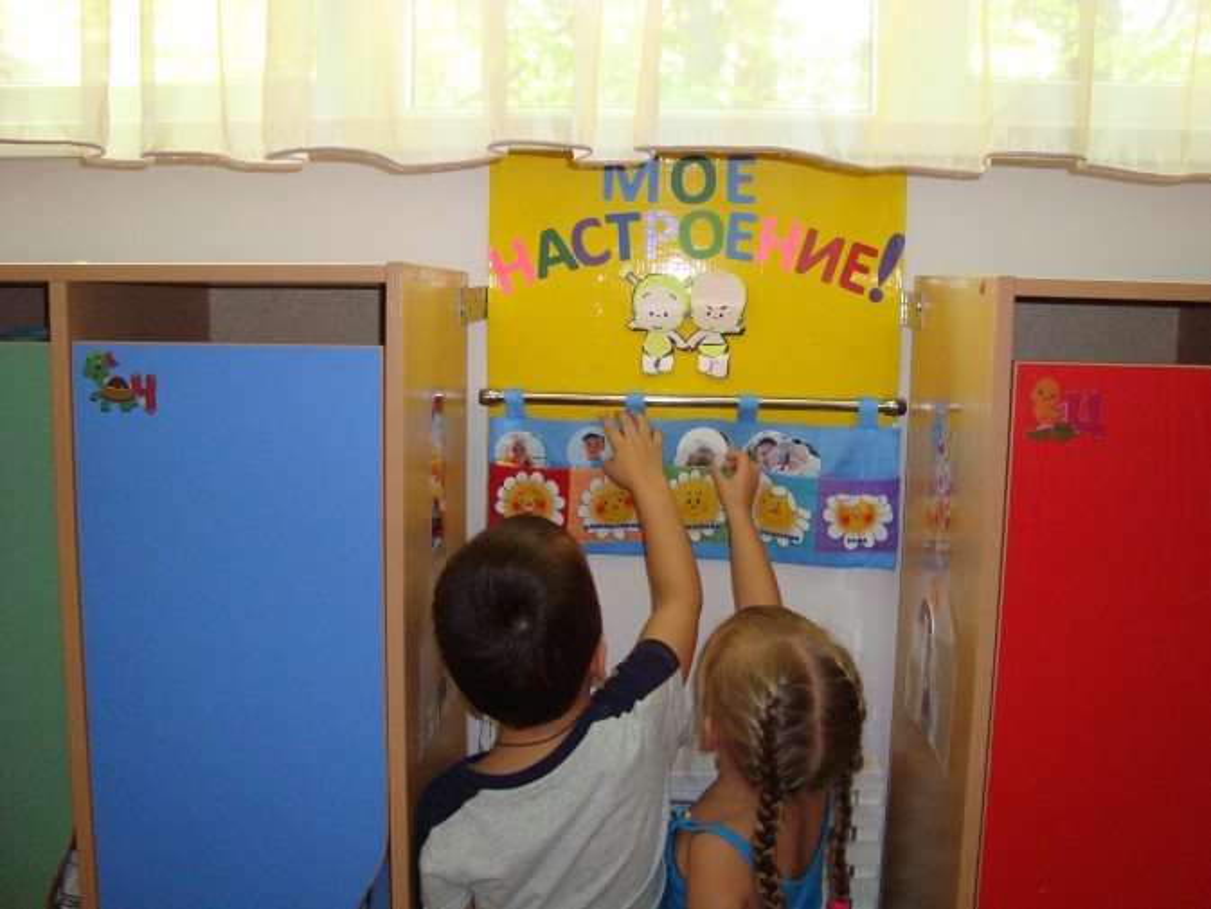 Уголок настроения в детском саду фото своими руками