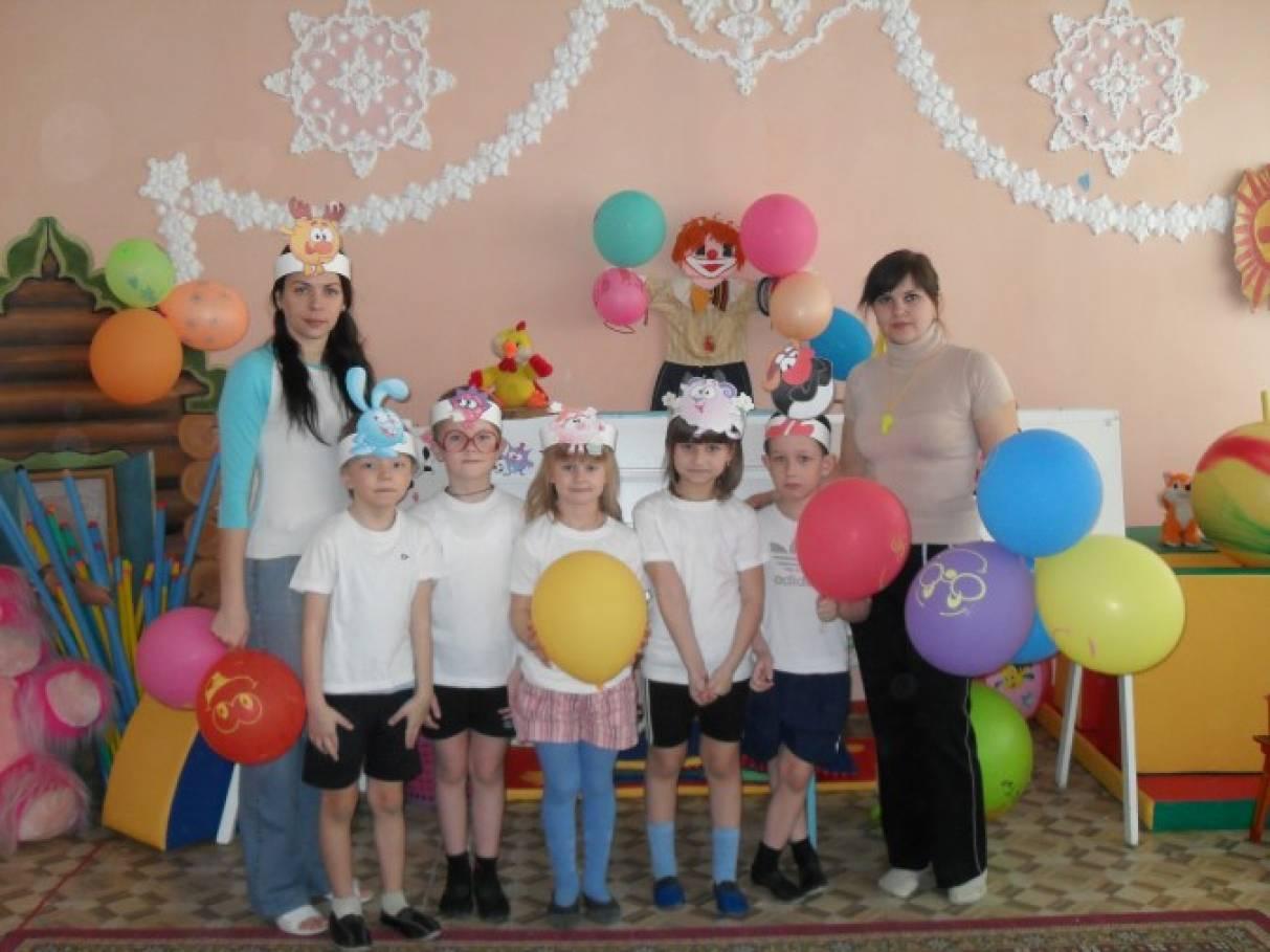 Сценарий спортивного праздника «Смешарики» для детей старшей и подготовительной к школе группы