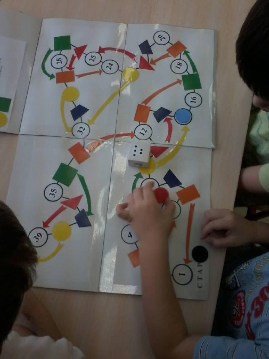 Математическая игра-ходилка для детей подготовительной группы