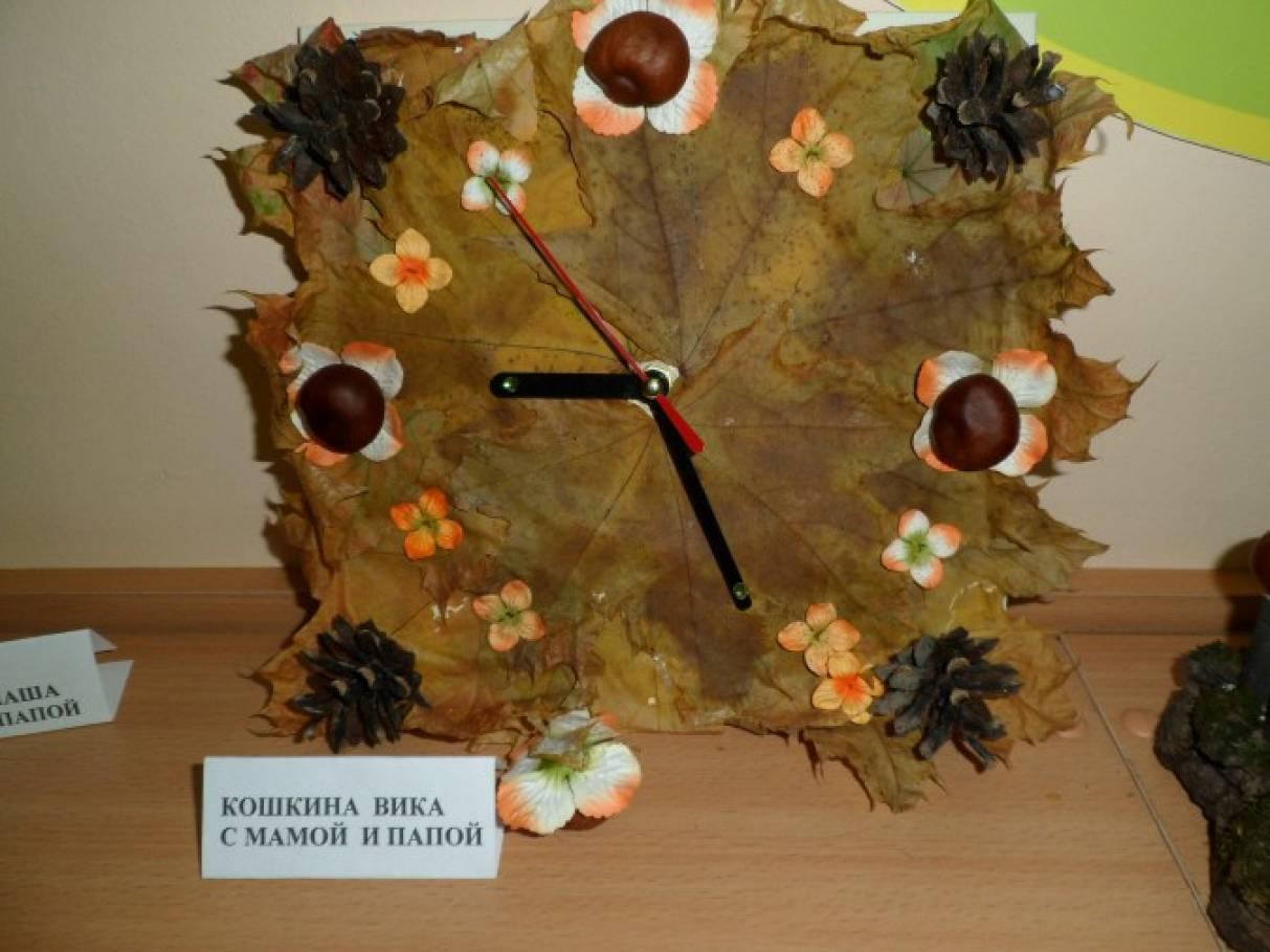 Фото поделок из природного материала-осень