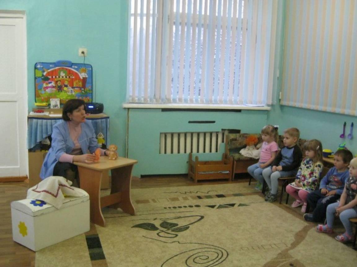 Знакомство детей с русскими народными потешками: «Котик», «Ах, не плачь, не плачь», «Ночь пришла»