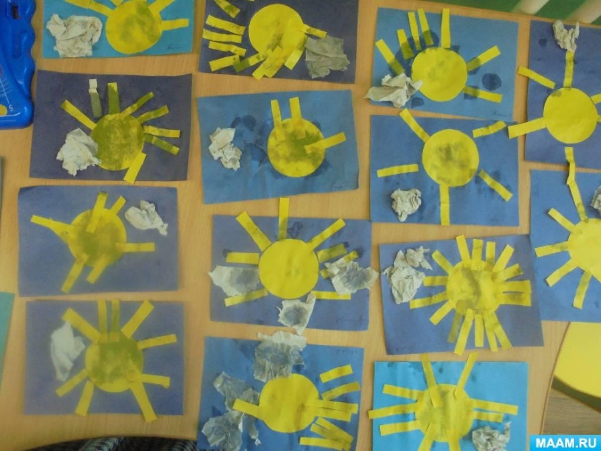 Нод для детей раннего возраста на тему весна по художественно-эстетическому развитию
