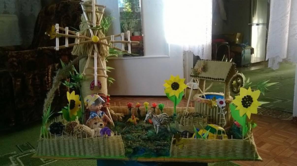 Сельские дворики поделки