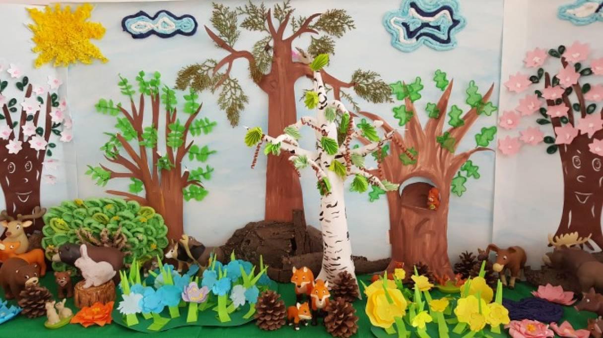 Макет весны для детского сада своими руками