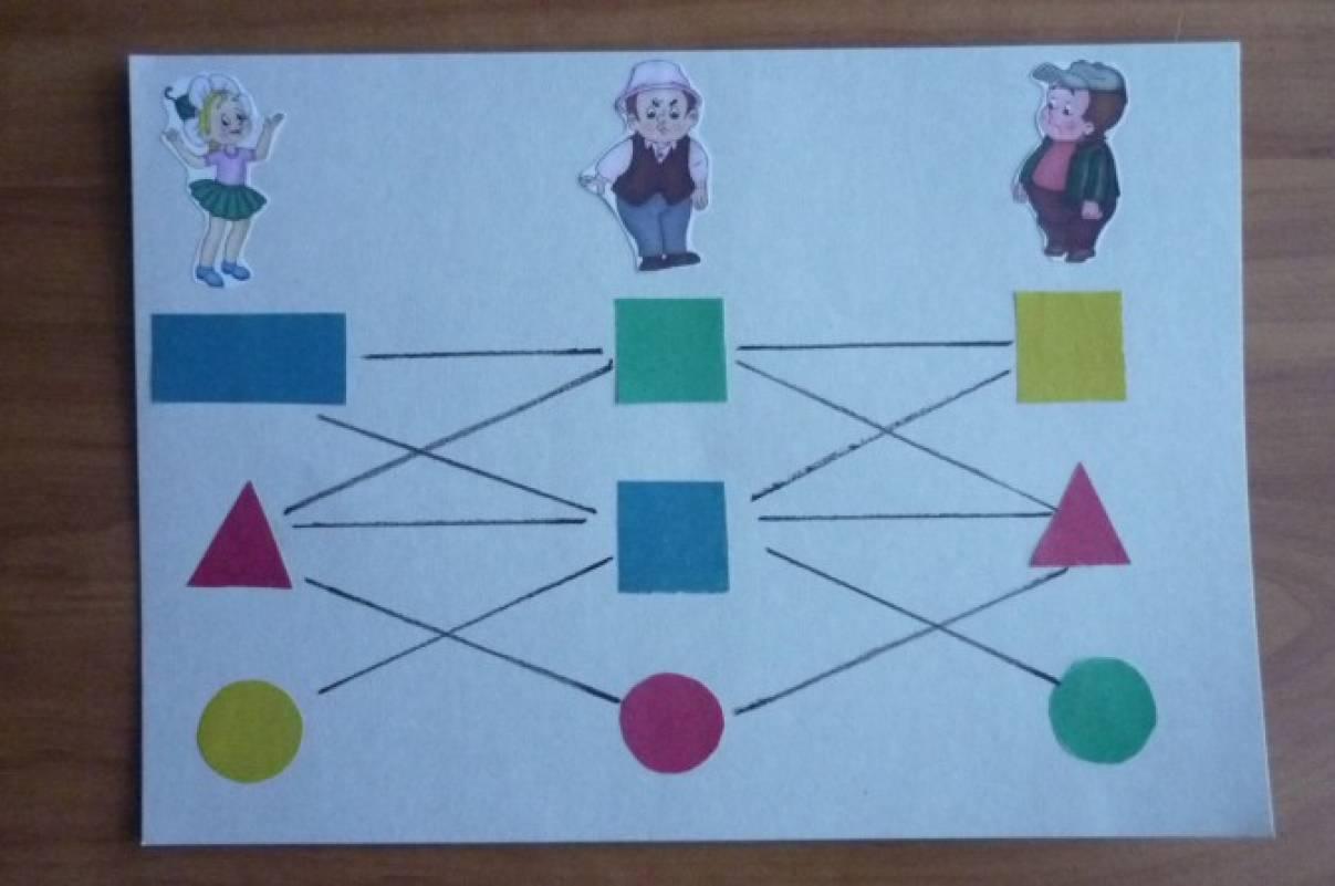 Дидактическая игра по математике в старшей группе
