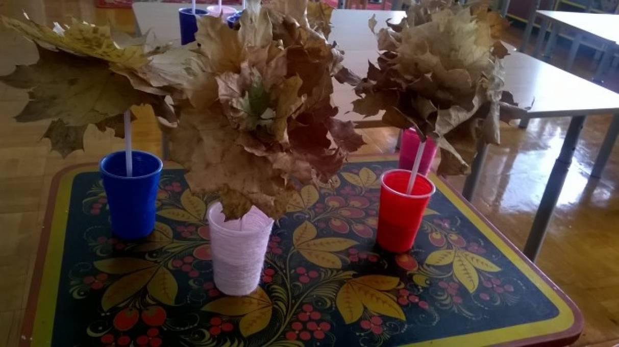 Поделка дерево осень руками пошагово 7