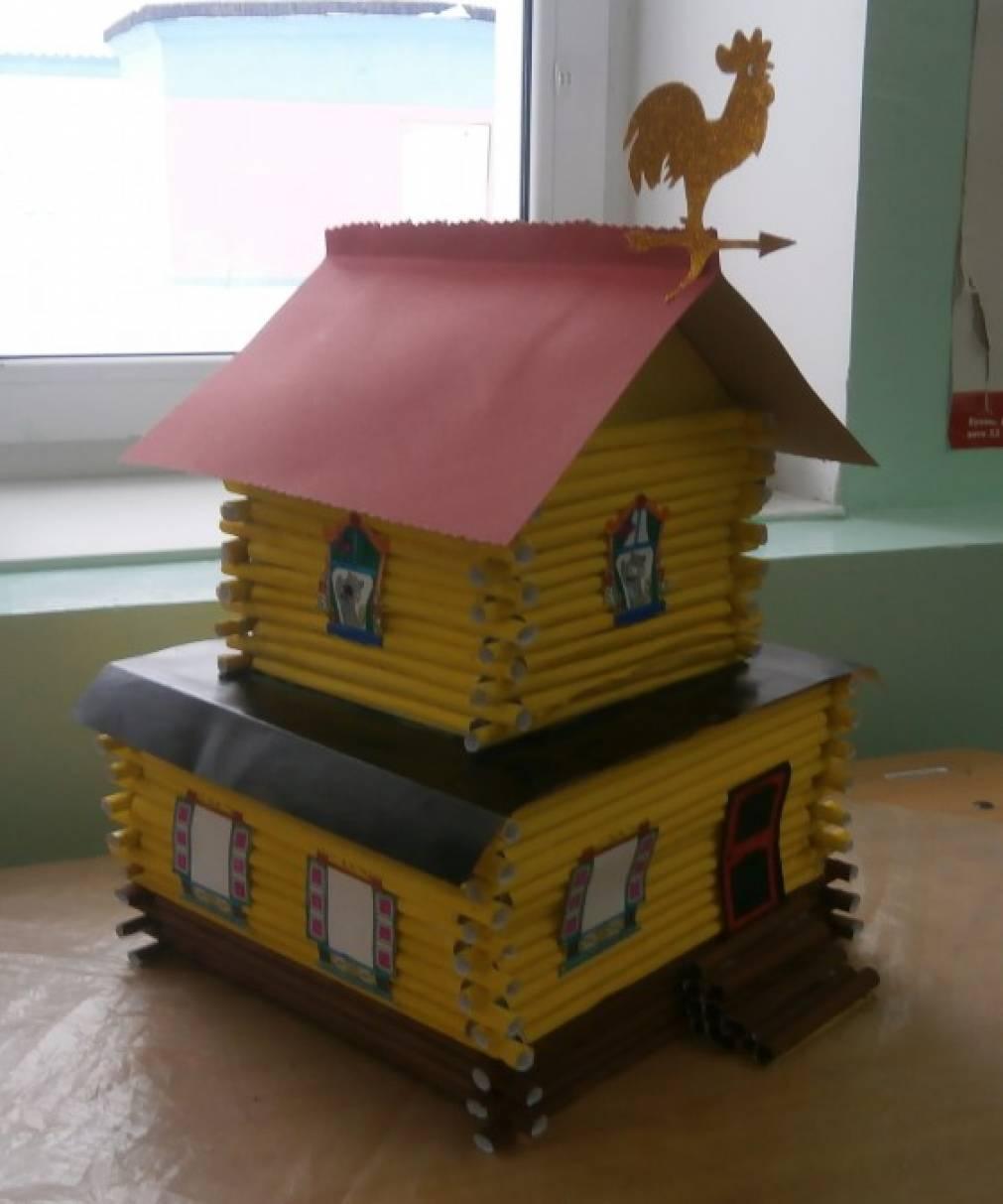 Кошкин дом поделка