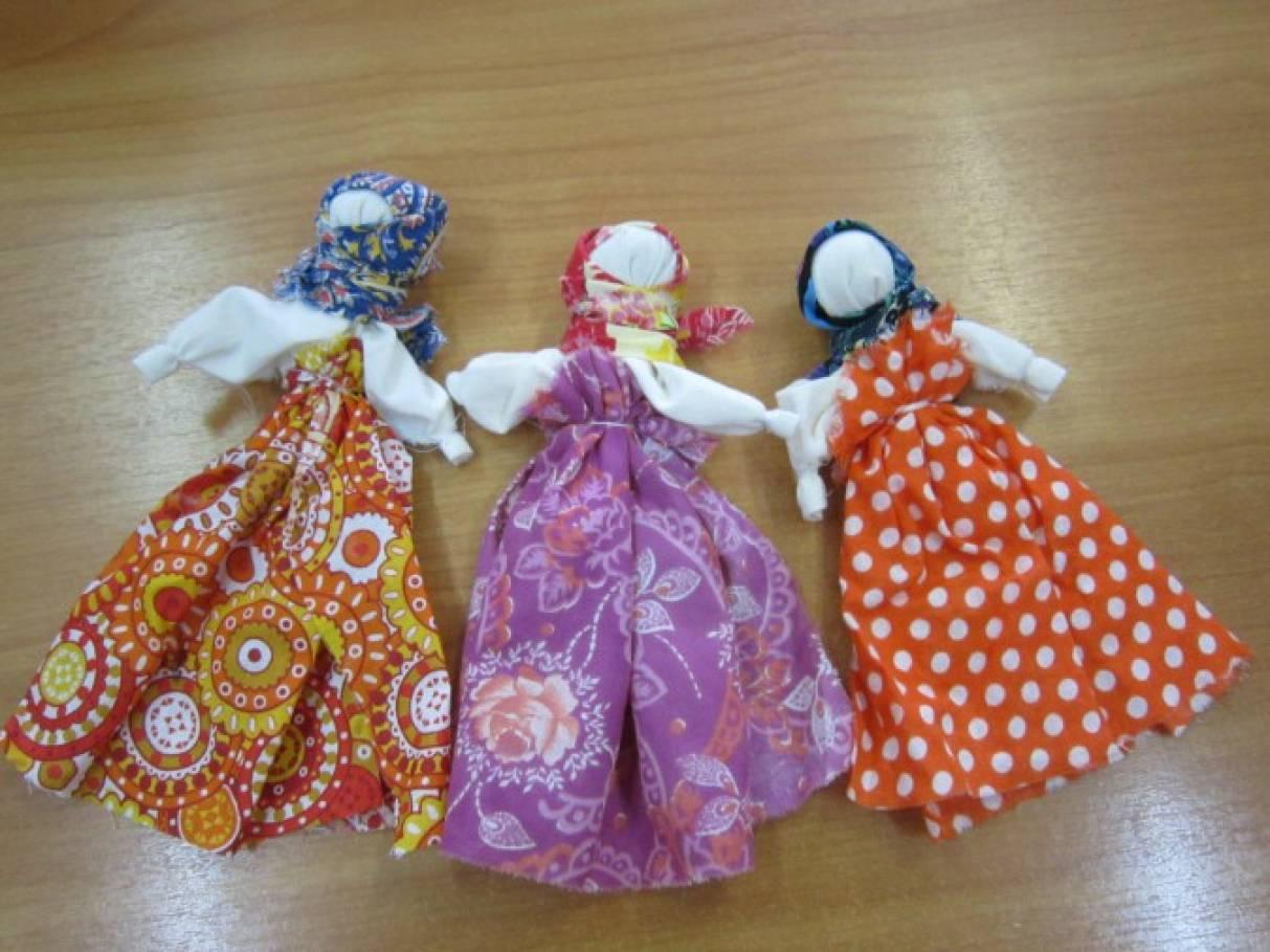 Тряпичные куклы обереги своими руками мастер класс