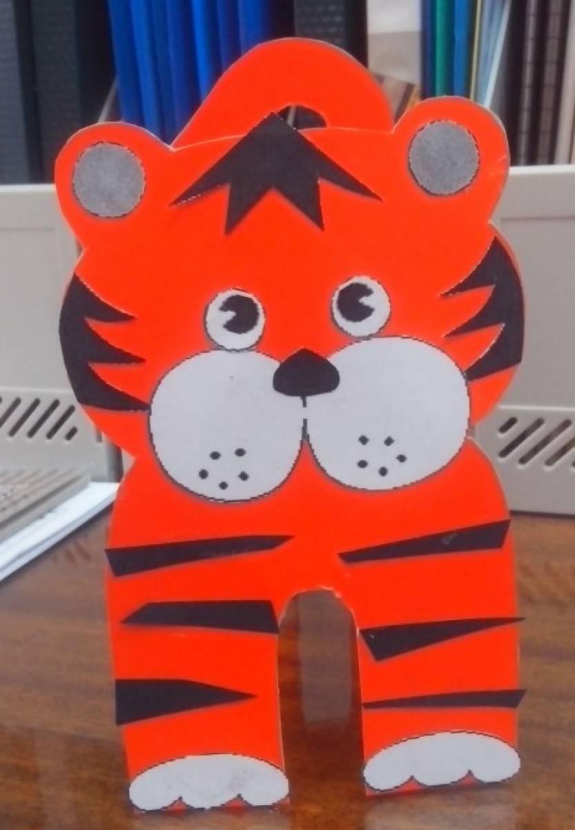 поделки тигра своими руками фото