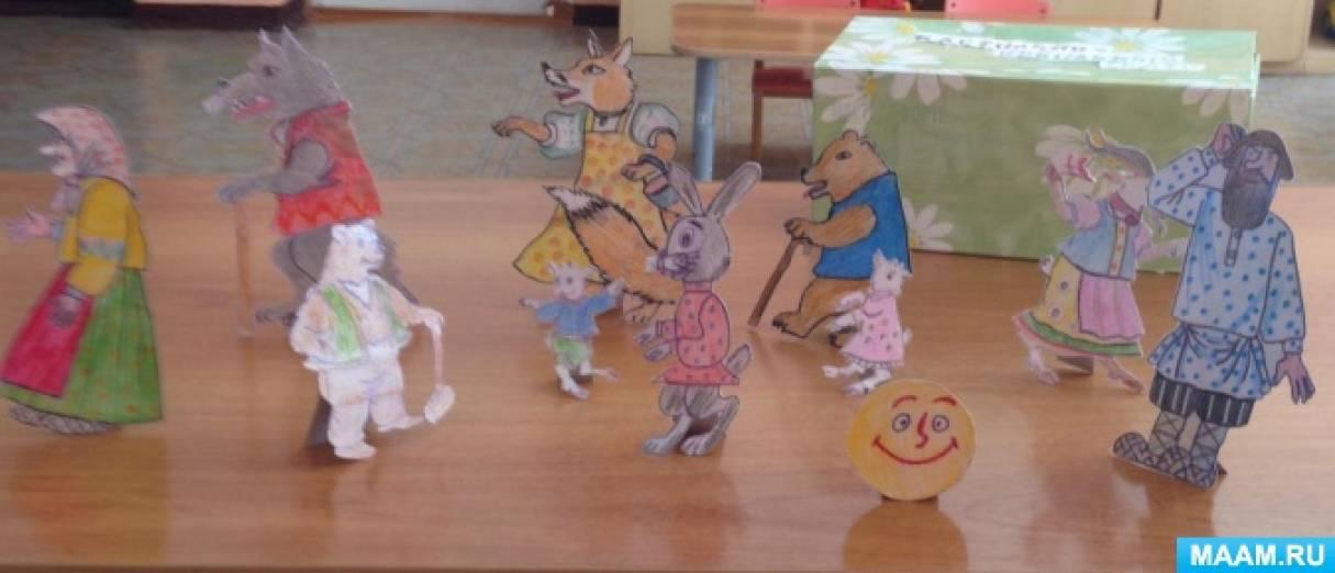 Дидактическое пособие «Настольно кукольный театр»