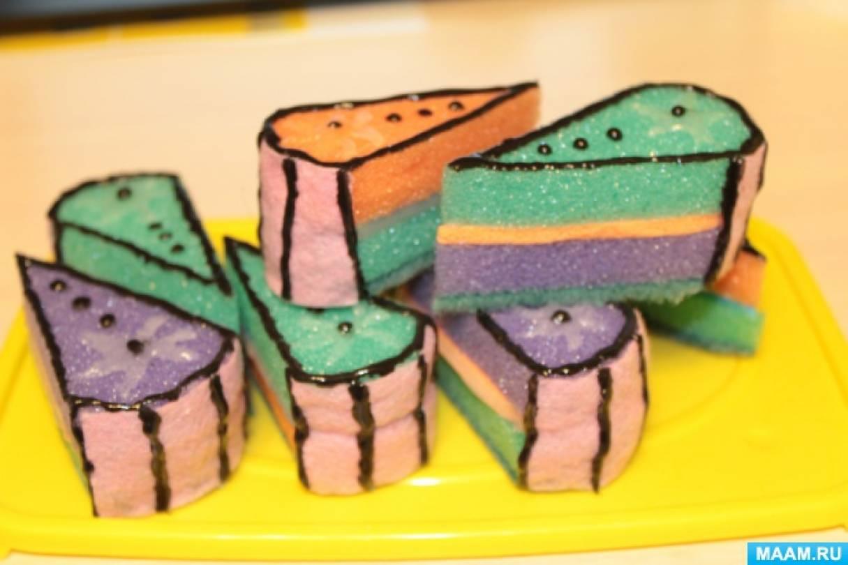 Пирожные из губки