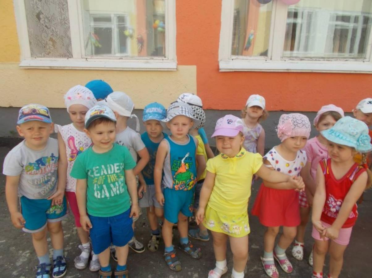 Фотоотчёт о празднике «День защиты детей» во второй младшей группе