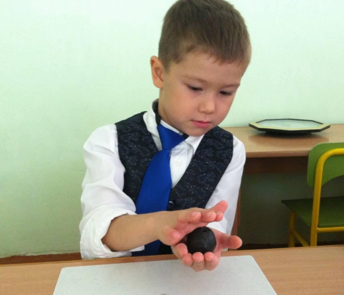 Фотоотчет о занятии по лепке из глины «Бирское яблоко»