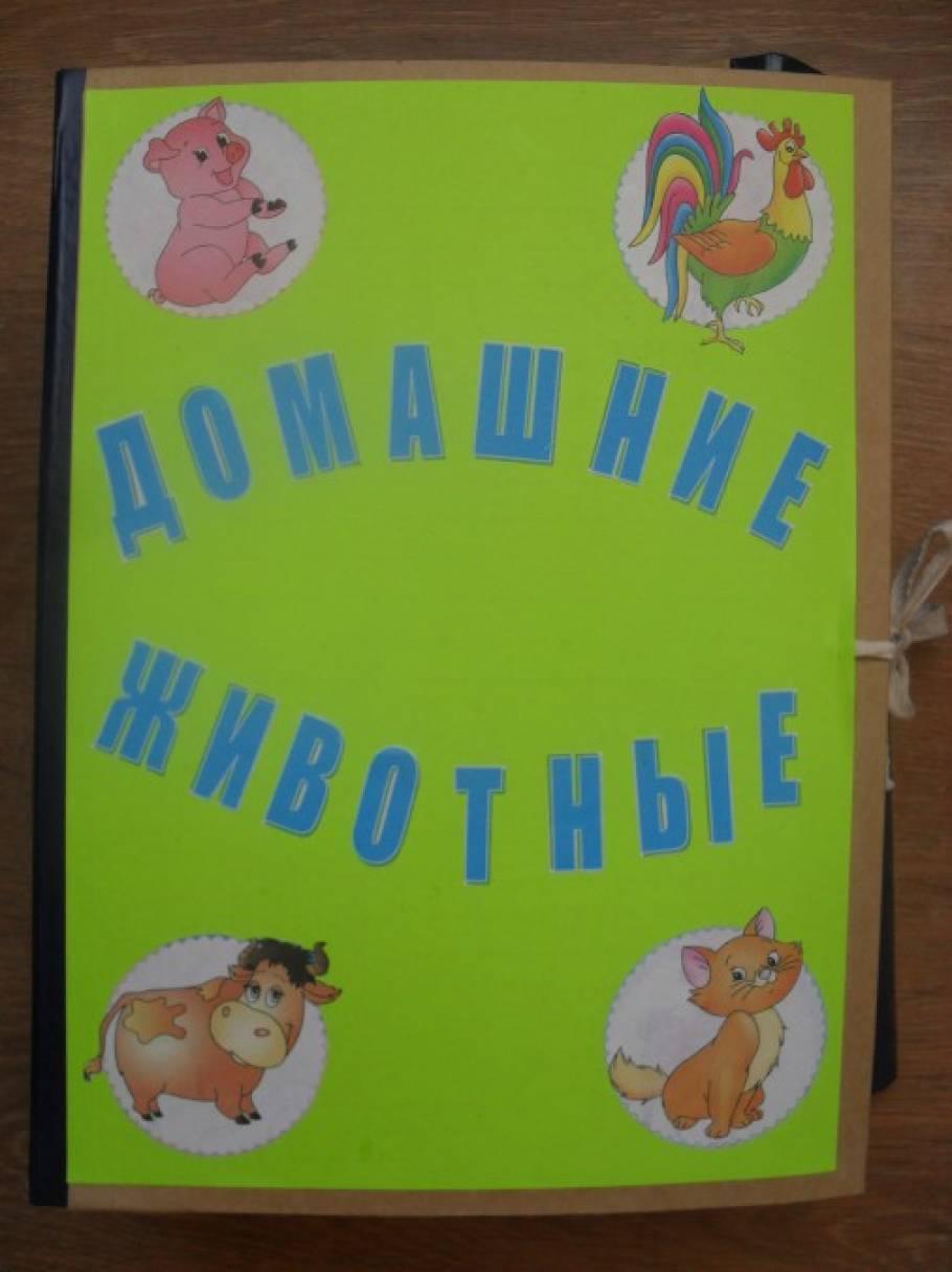 Лэпбук для детского сада своими руками домашние животные