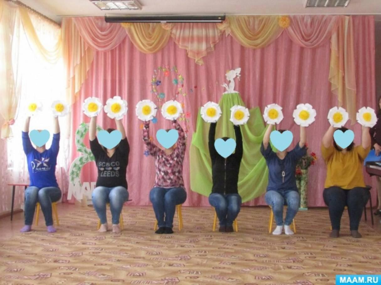 Мастер-класс по изготовлению декораций для «Танца Цветов»
