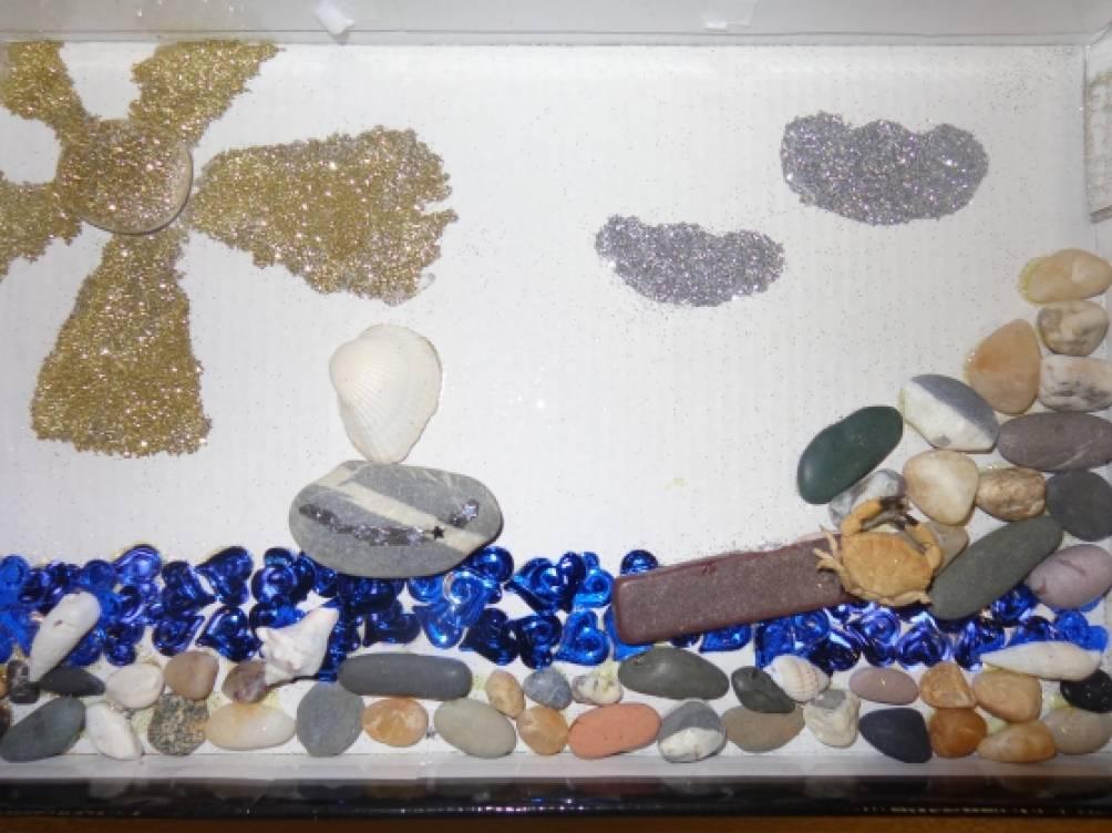 Поделки из камней своими руками в школу