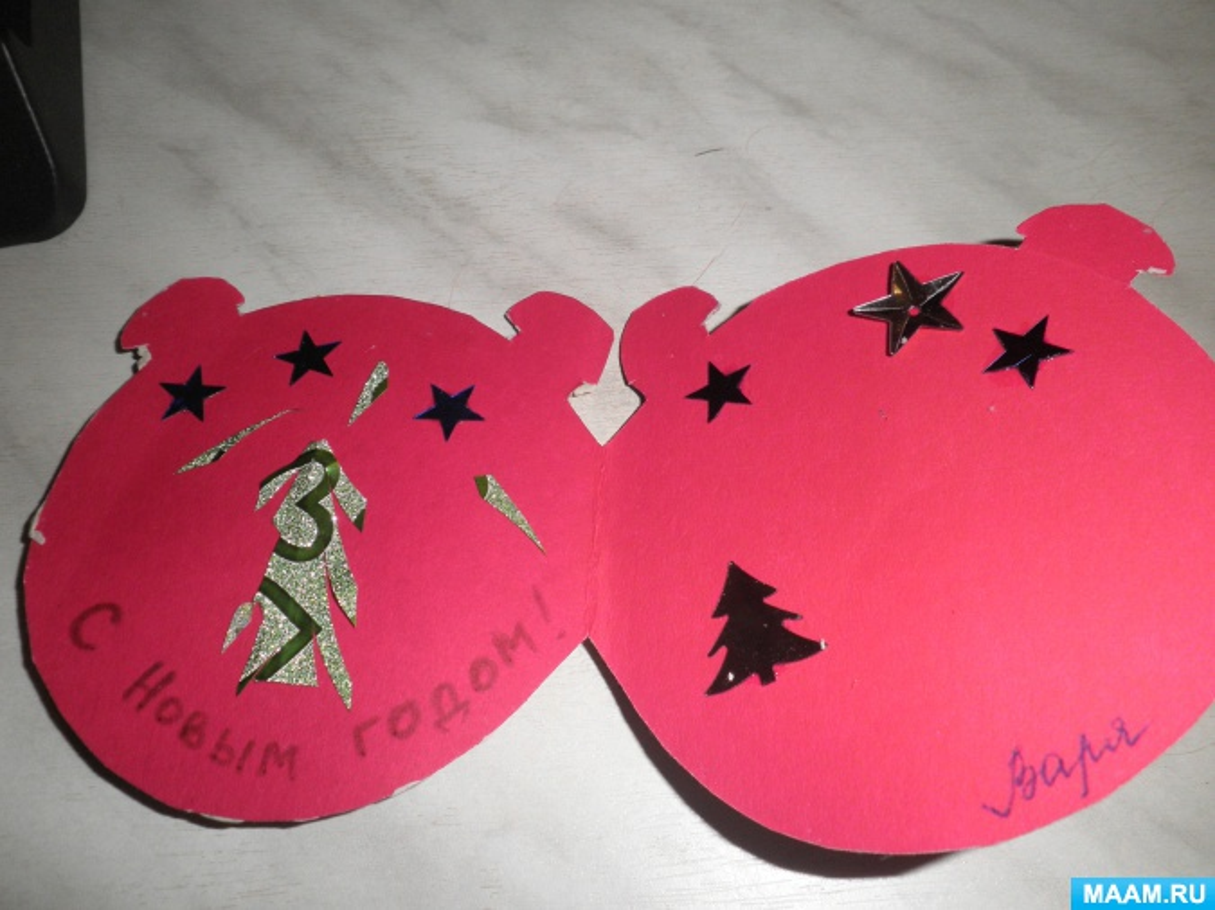 Пластилинопластика «Новогодние открытки»