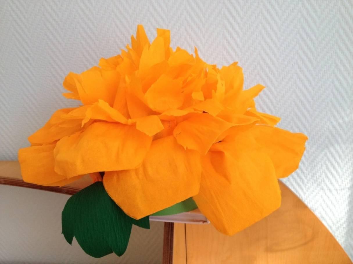Цветы из утеплителя своими руками 59
