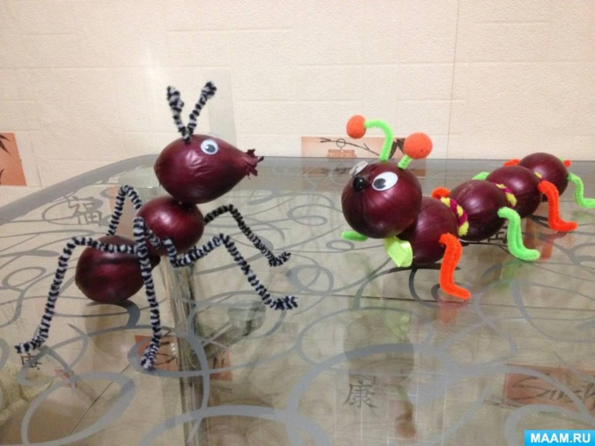 Наша гусеница (поделка в детский сад гусеница поделка - бэби. ру)