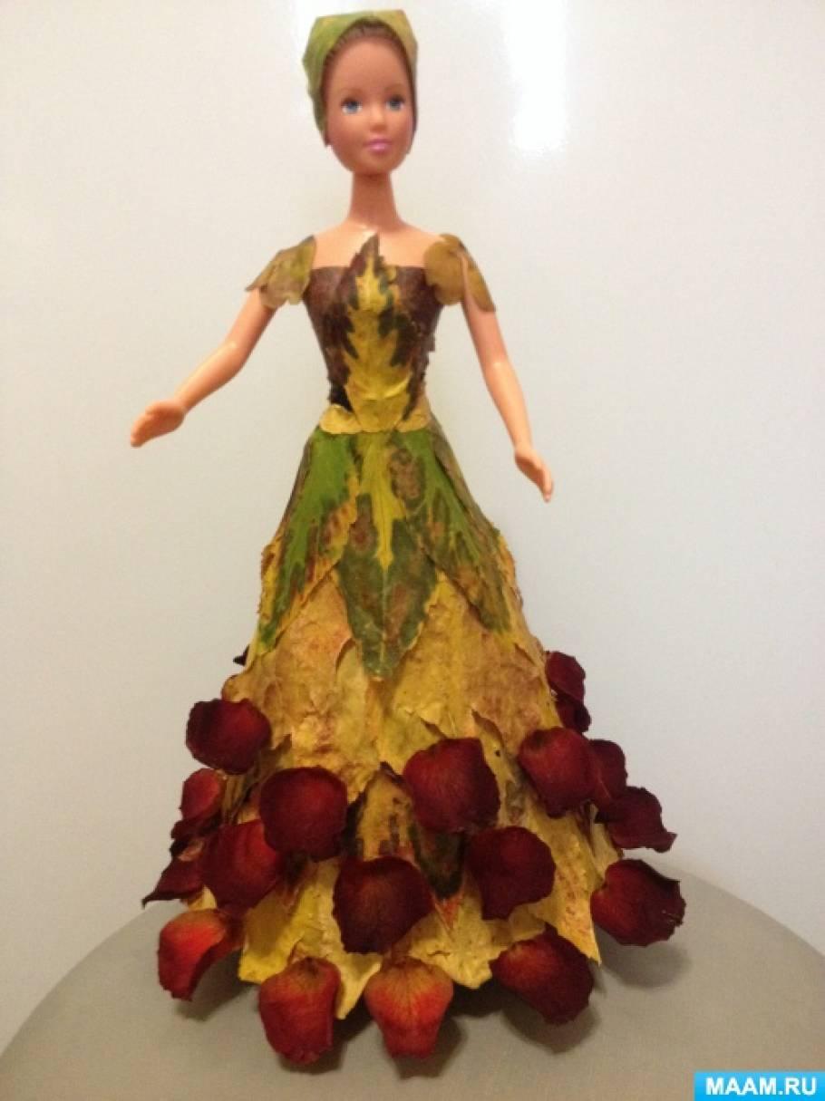 Кукла из природного материала своими руками 74