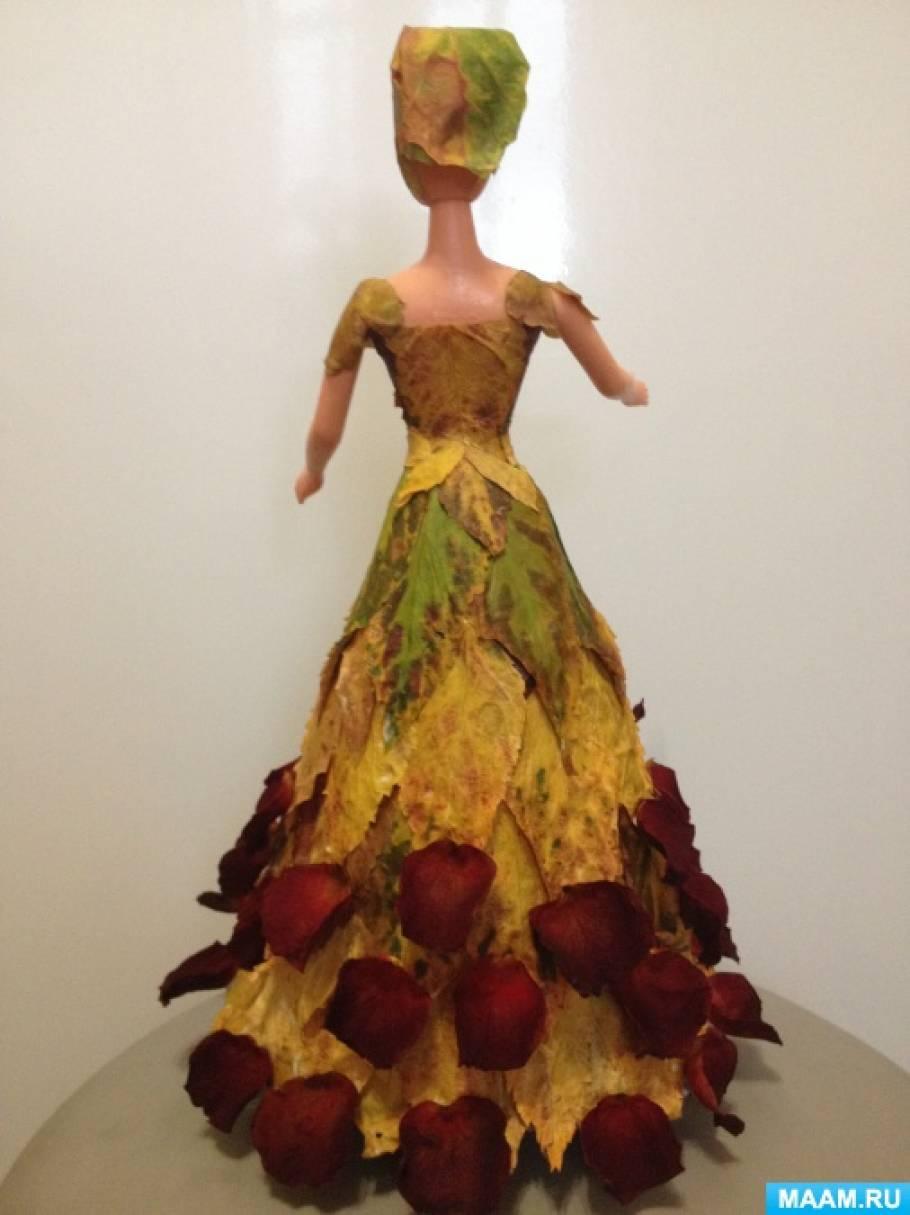 Кукла из природного материала своими руками 86