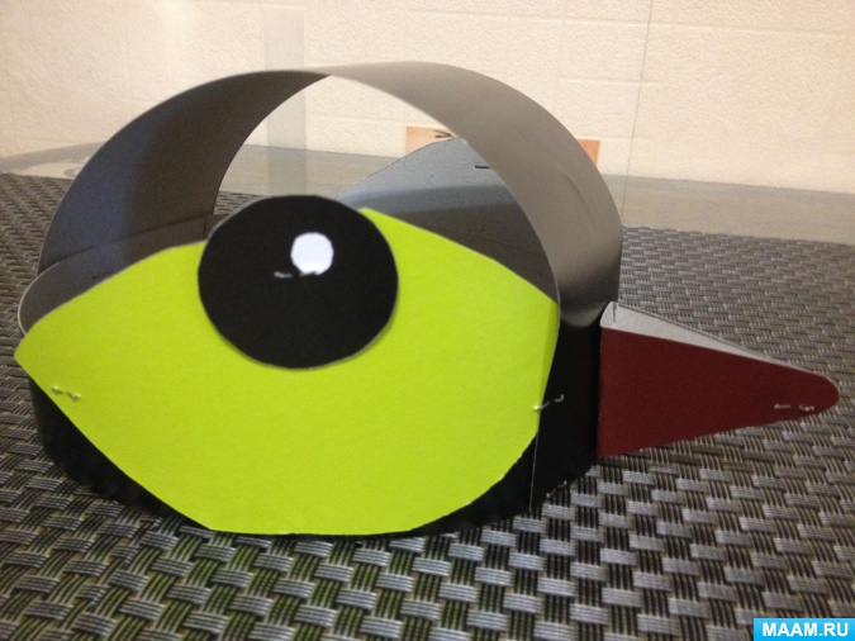 Мастер-класс по изготовлению маски-шапочки птички-синички