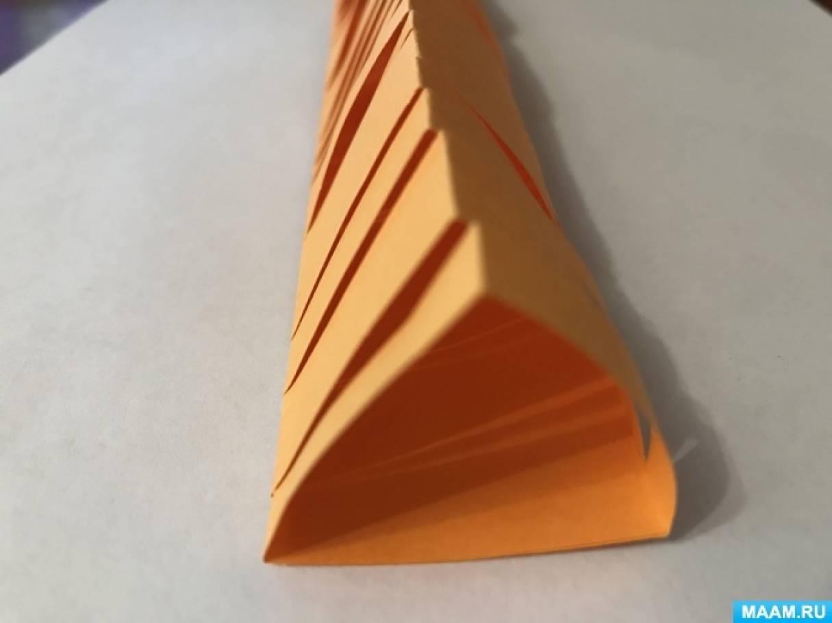 Простые поделки из цветной бумаги для младших школьников