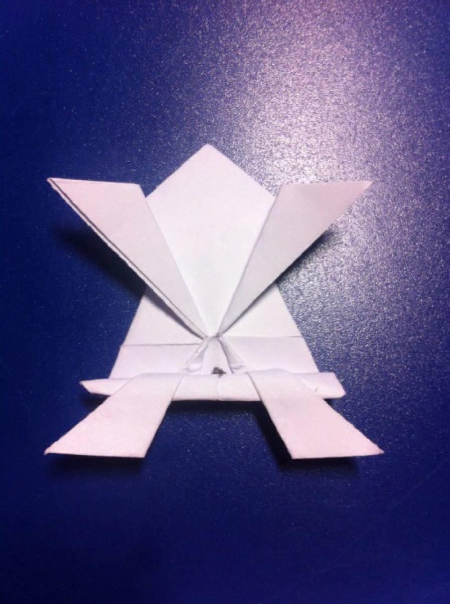 конспекты по оригами бумаги знакомство