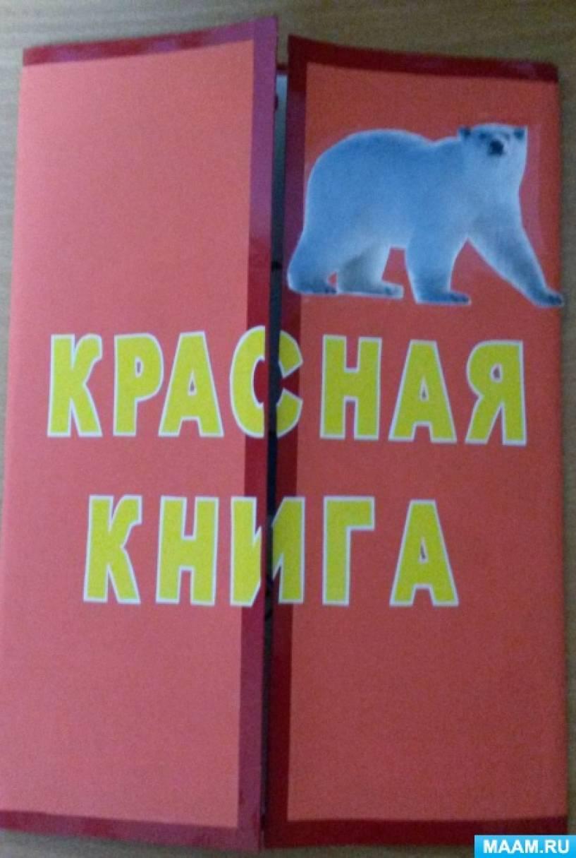 Фотоотчет. Лэпбук «Красная книга» (белый медведь)