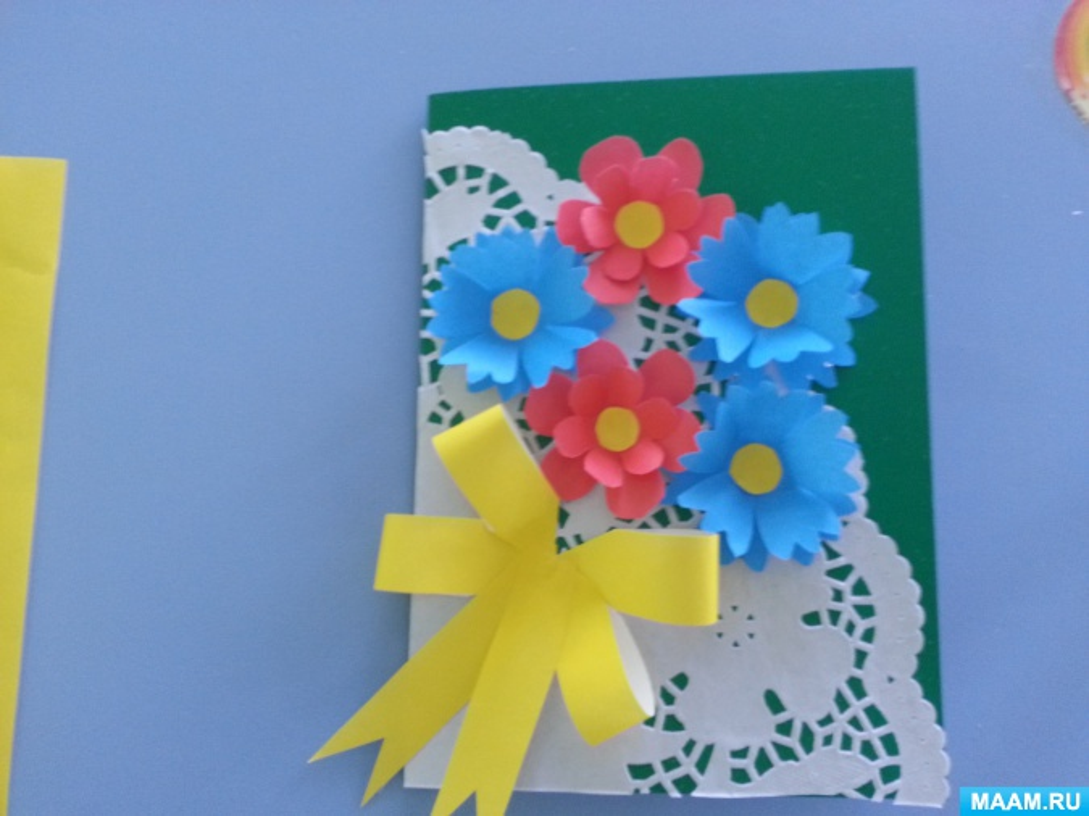 Картинки, открытка для мамы мк