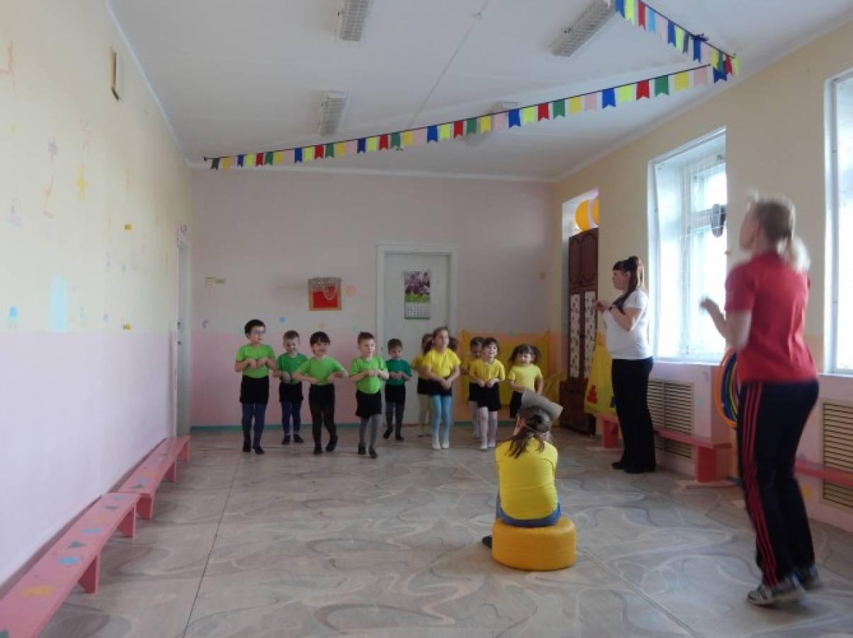 Конспект непосредственно-образовательной деятельности с детьми средней группы «Котята»