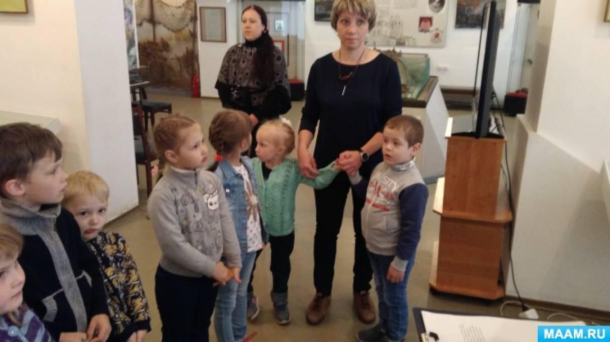 Фотоотчет об экскурсии в краеведческий музей на занятие «Детям о Пушкине»