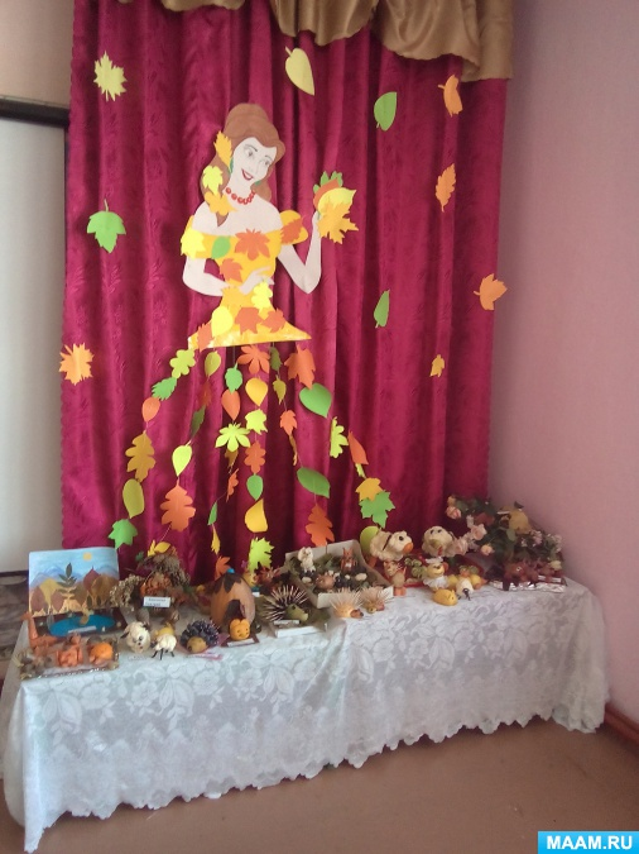 Оформление музыкального зала к празднику осени: цели и задачи