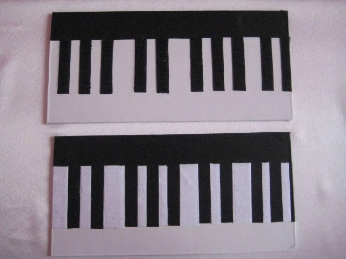 Пианино своими руками для детей