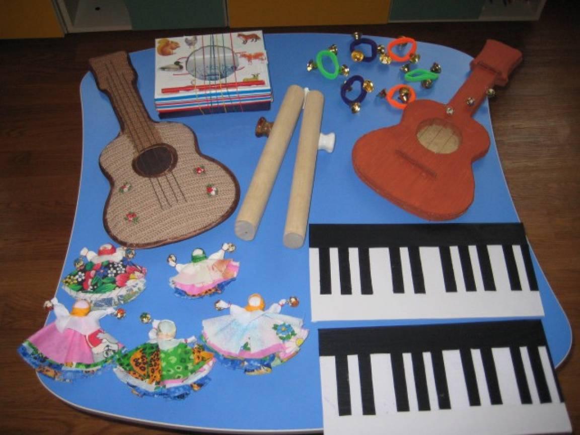 Музыкальные инструменты в детском саду своими руками фото 785