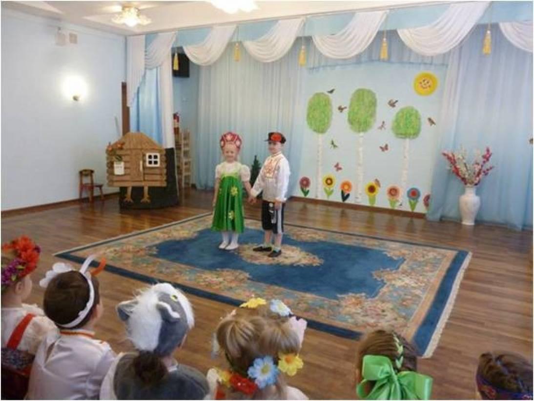 Фотоотчет о спектакле «Гуси-лебеди» для старшего дошкольного возраста