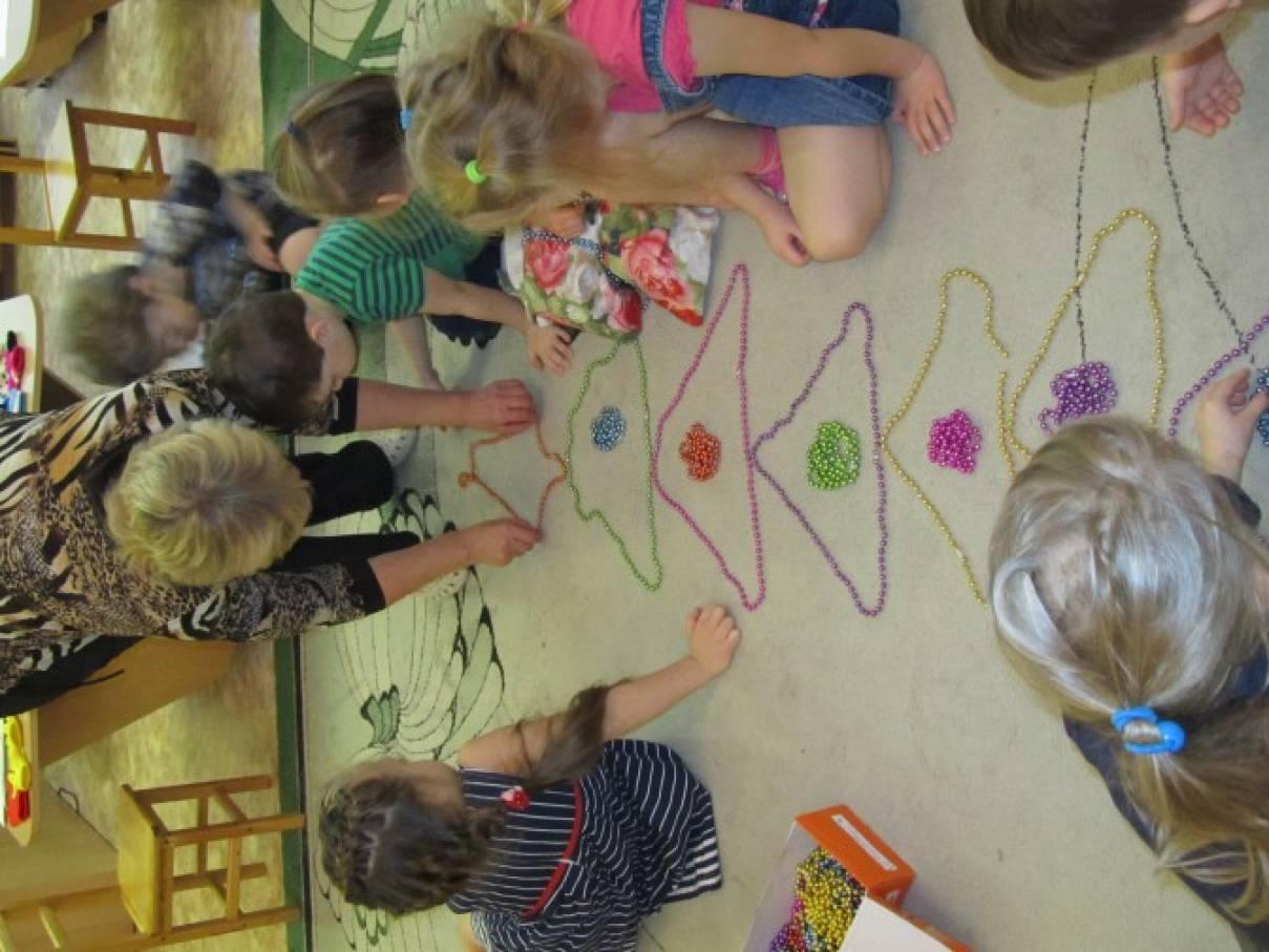 знакомство в детском саду с родиной