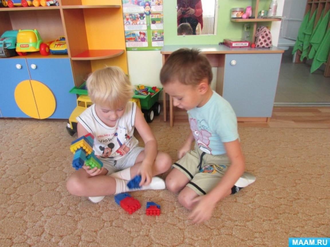 знакомим детей о строительных профессиях