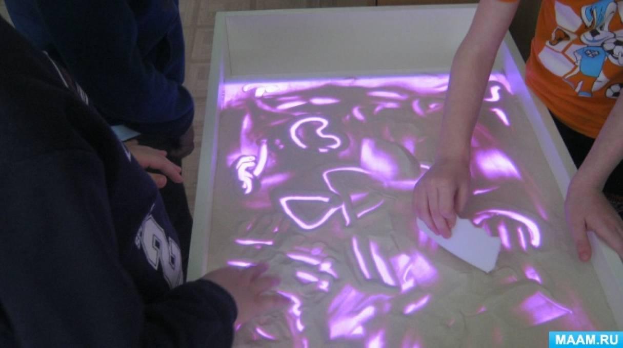 Проект «Песком рисуем на стекле»