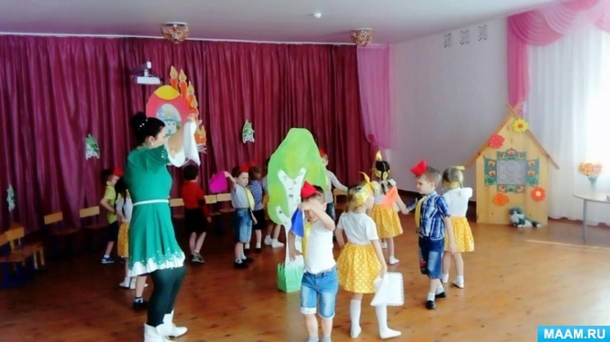 Тематическое развлечение для детей второй младшей группы к празднику Светлой Пасхи