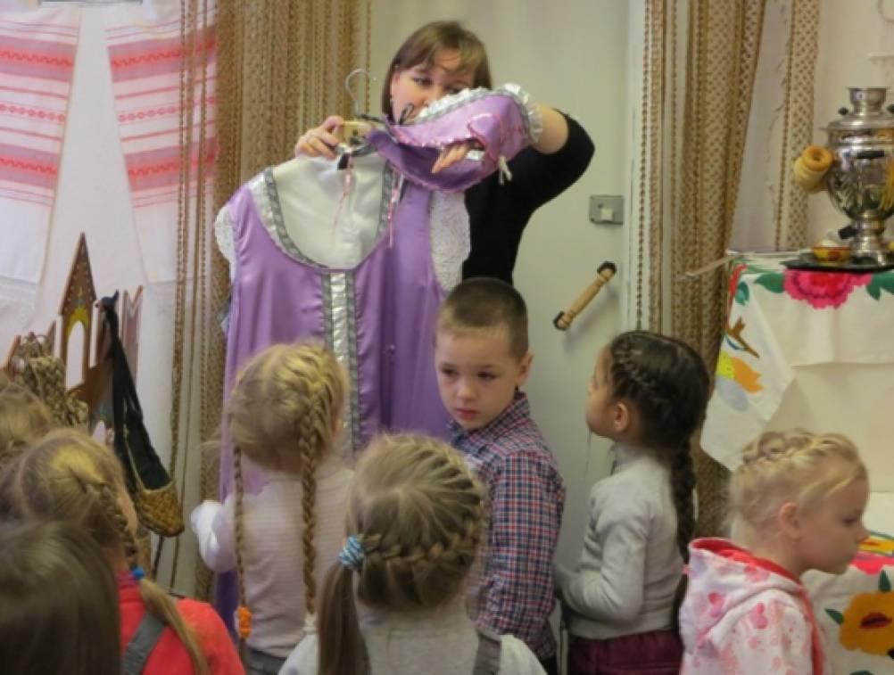 знакомство дошкольников с русской народной культурой