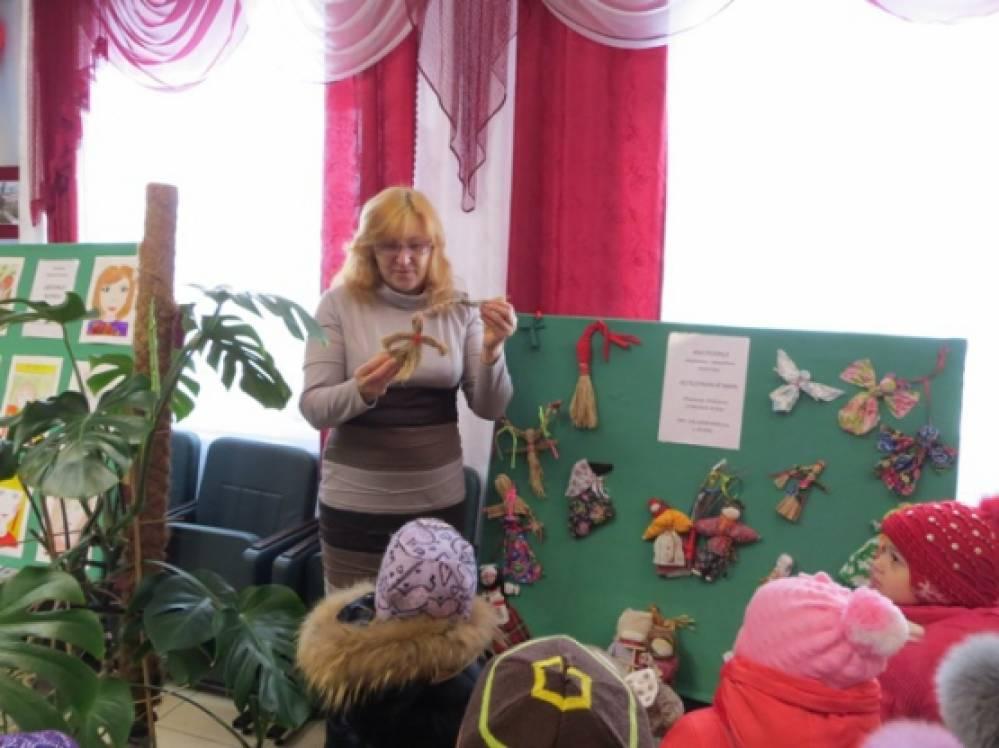 знакомство дошкольников с русскими ремеслами