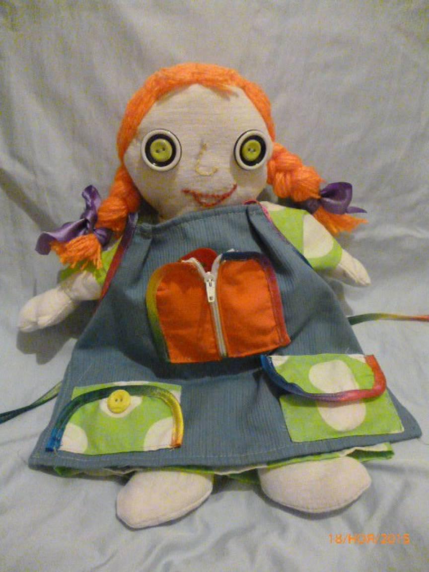 Дидактическая кукла своими рука 94