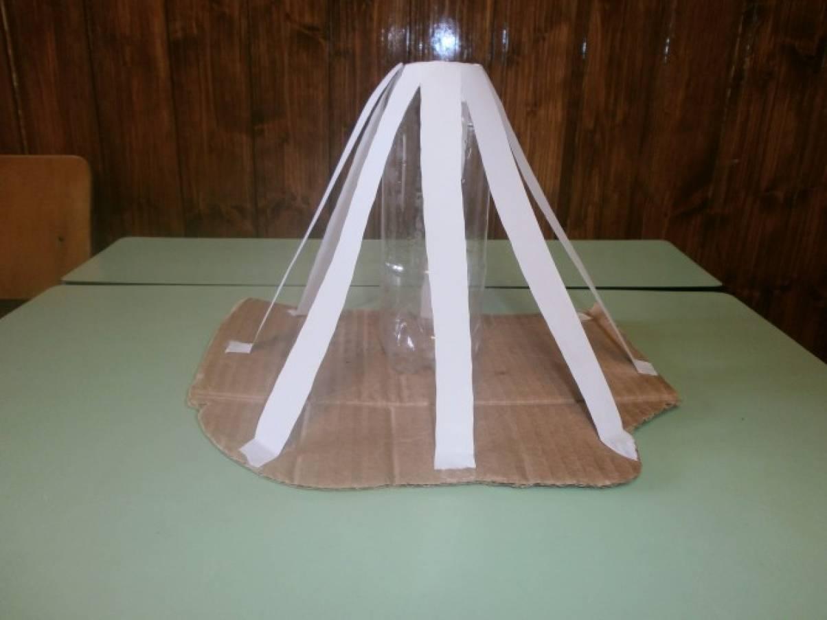Вулкан своими руками в домашних условиях из бумаги 96
