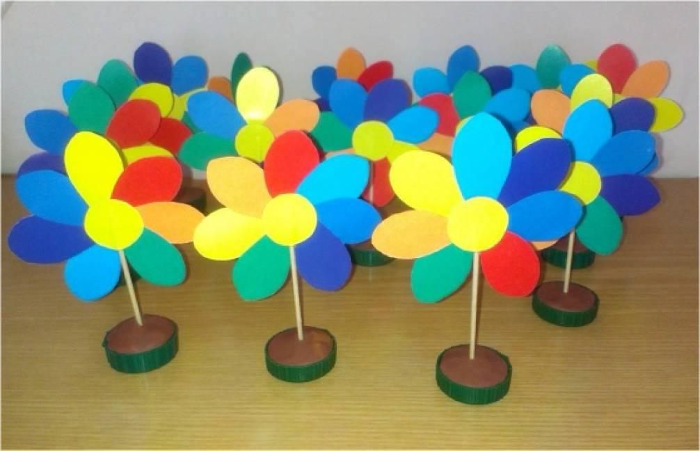Как и из чего сделать цветик семицветик 784