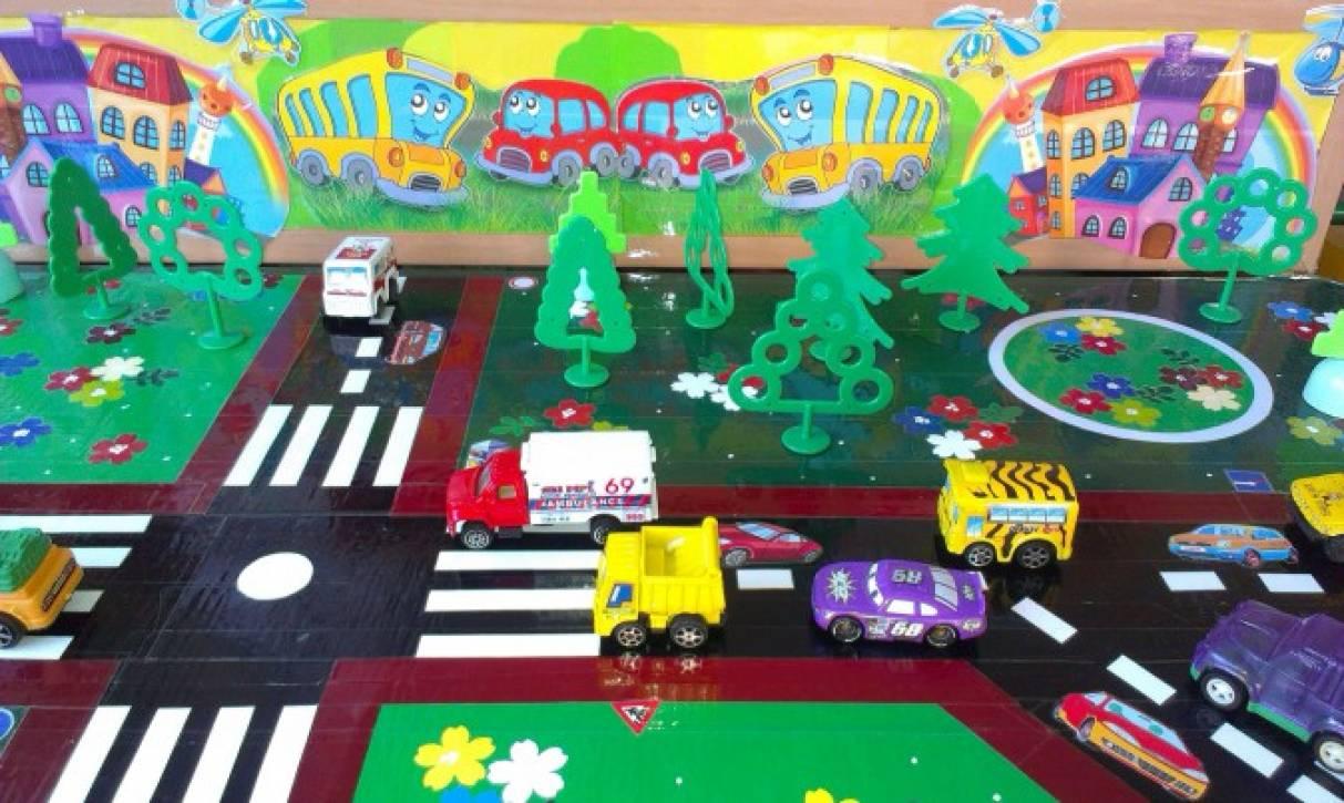 Шаблоны пдд для детского сада своими руками 263