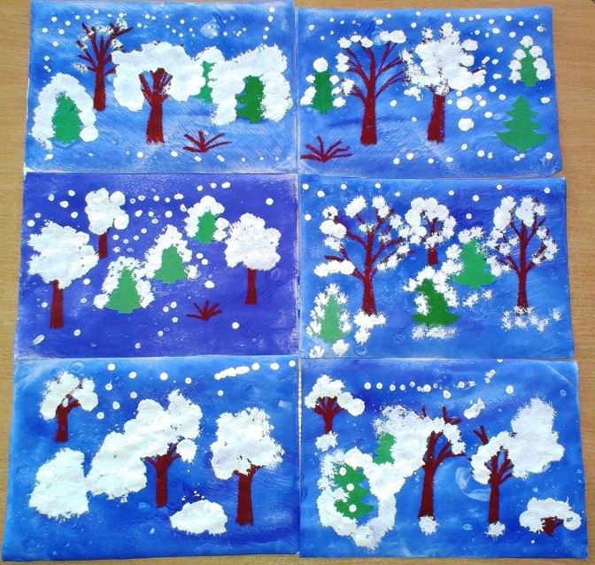 Конспект занятия по рисованию для 1 младшей группы по теме снег идет рисование ватными палочками